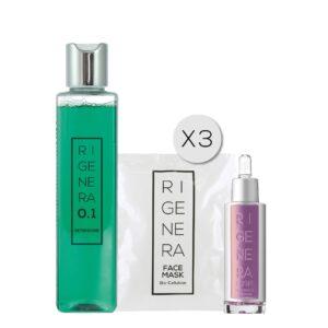set beauty routine rigenera