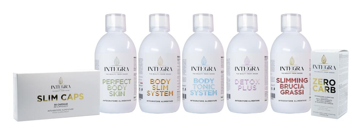 Tutta la linea dei prodotti INTEGRA