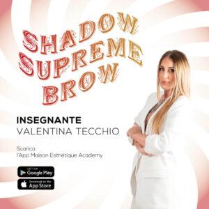 Video corso campus master shadow supreme brow valentina tecchio