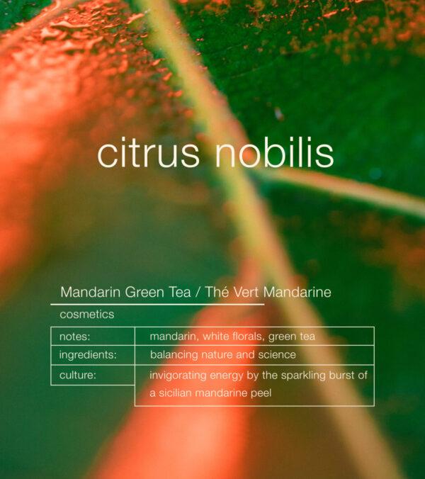 Zenology Citrus Nobilis Cosmetic notes