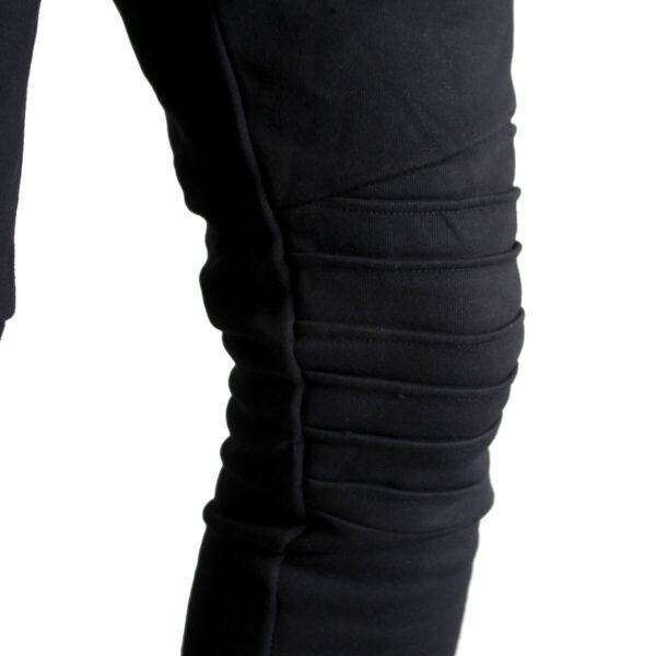 Pantalone tuta nero felpato Maiosn Couture